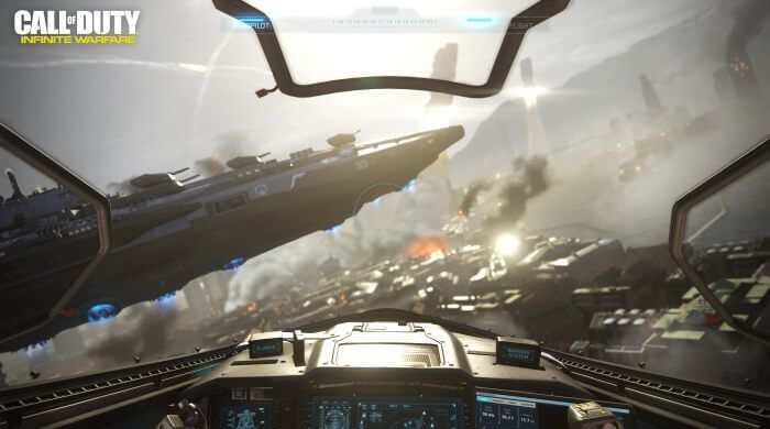 Call Of Duty: Infinite Warfare Takes To The Stars With Explosive Launch Trailer