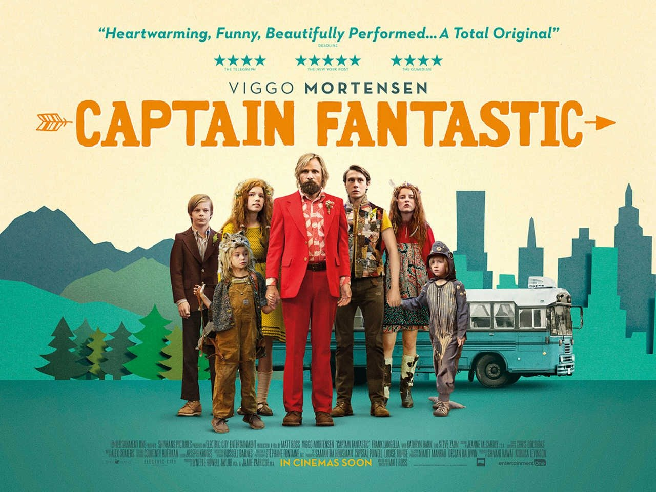 Captain Fantastic on The Sent
