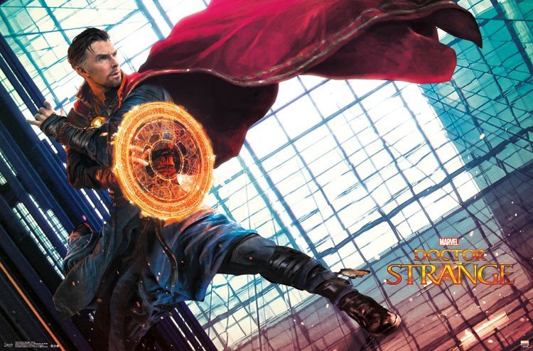 New Doctor Strange Promo Art Features A Fiery Benedict Cumberbatch