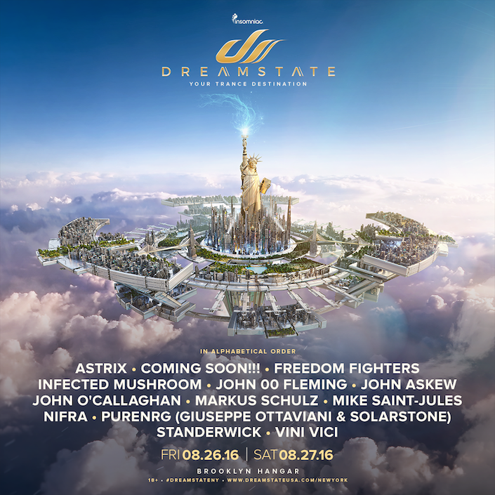 Insomniac's Dreamstate Is Coming To The Big Apple