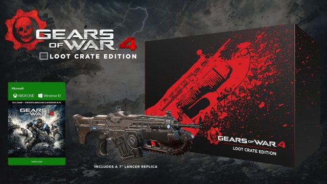 Gears of War 4 Loot Crate Comes With Replica Lancer and More