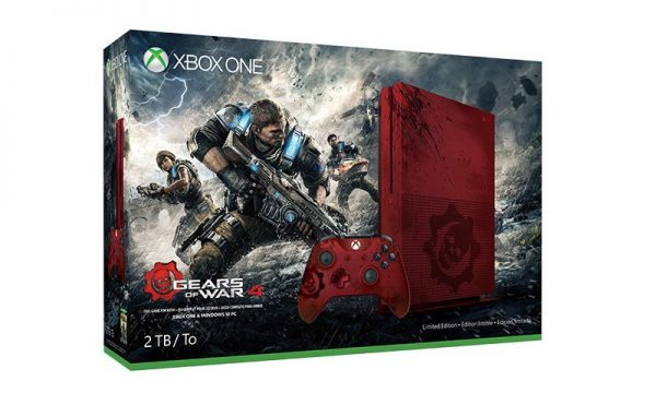 Microsoft Unveils Gritty Gears Of War 4 Xbox One S Console