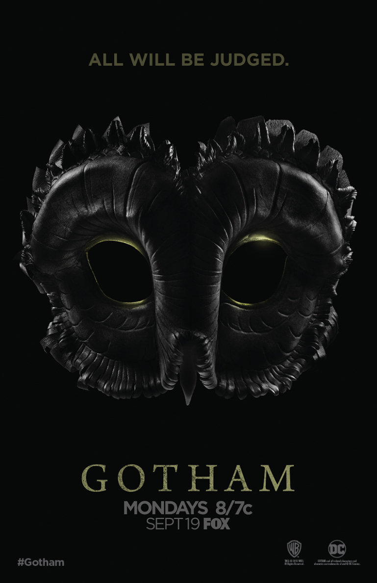 Gotham Season 3 Poster Teases The Court Of Owls