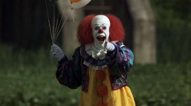 Bill Skarsgard Is Pennywise The Clown In Eerie New Photo For Andy Muschietti's It