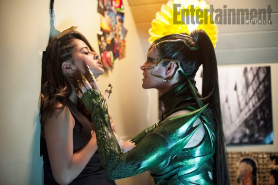Power Rangers Image Shows Rita Repulsa And The Yellow Ranger Up Close And Personal