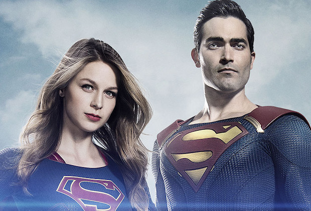 Tyler Hoechlin Stands Tall As The Man Of Steel In New Supergirl Image