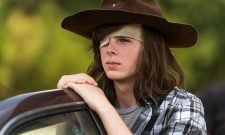 New Photo Confirms A Big Comic Book Moment For Carl In Sunday's The Walking Dead