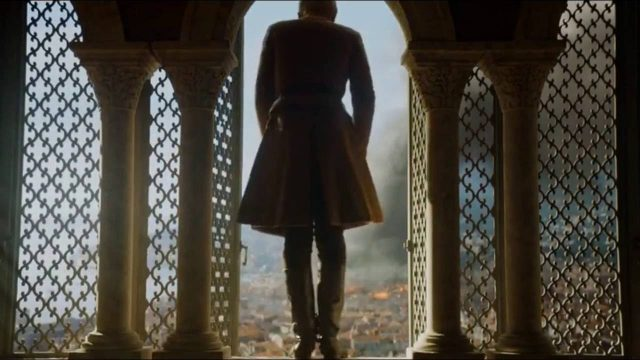 tommen jumps out of a window