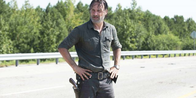 Andrew Lincoln as Rick Grimes; single- The Walking Dead _ Season 7, Episode 9 - Photo Credit: Gene Page/AMC