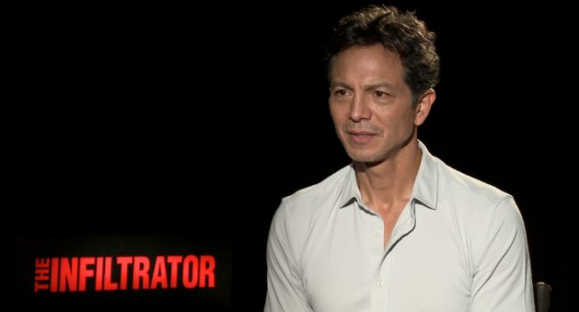 Exclusive Interviews: Benjamin Bratt Talks The Infiltrator