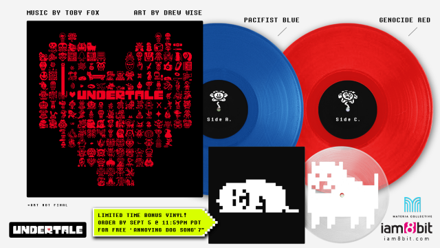 Undertale Soundtrack Releasing On Vinyl