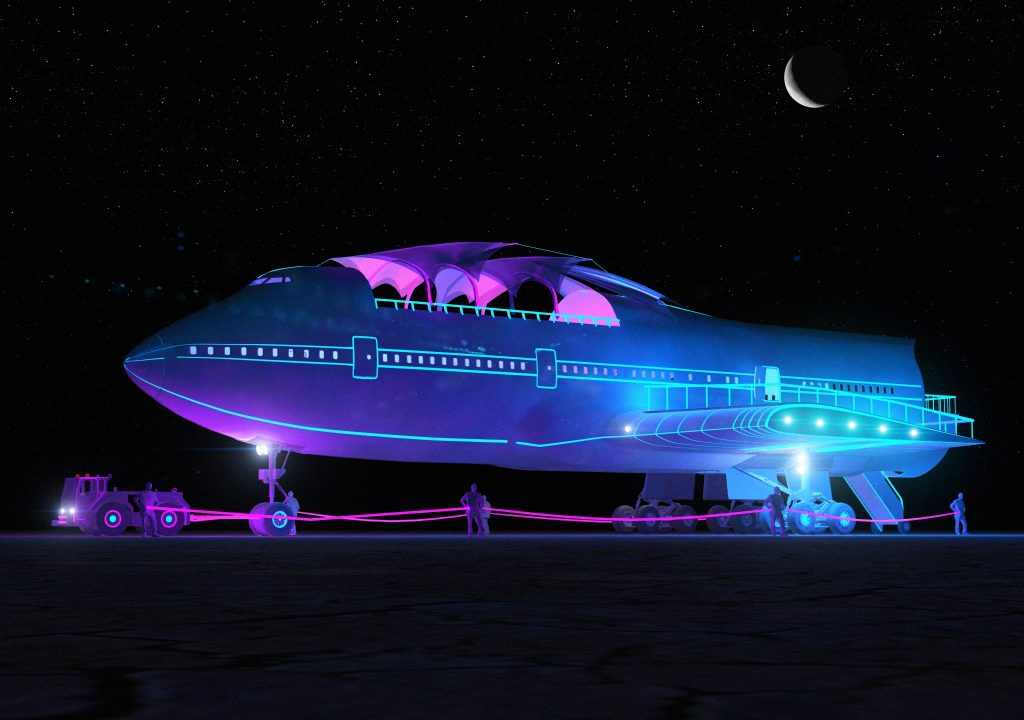 Burning Man 2017 To Feature Boeing 747 Art Car