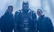 The Dark Knight Looks Unusually Cheerful In New Batman V Superman: Dawn Of Justice BTS Photo