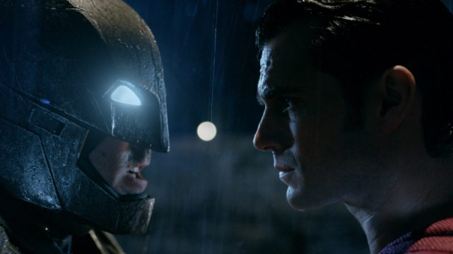 Ben Affleck and Henry Cavill in Batman v Superman Dawn of Justice