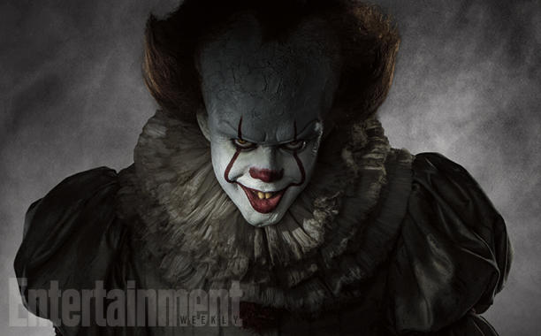 It: Pennywise Cracks A Wicked Smile In Chilling First Look At Bill Skarsgard's Trickster