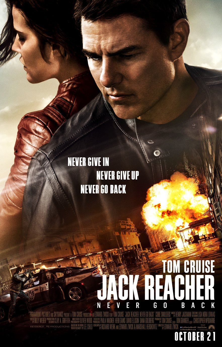The Hunters Become The Hunted In All-New TV Spot For Jack Reacher: Never Go Back