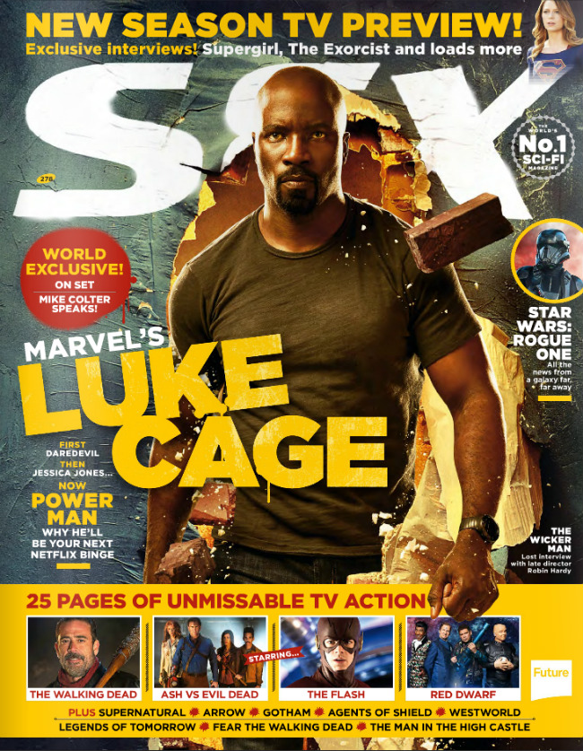 Luke Cage Muscles His Way Onto Cover Of SFX Magazine