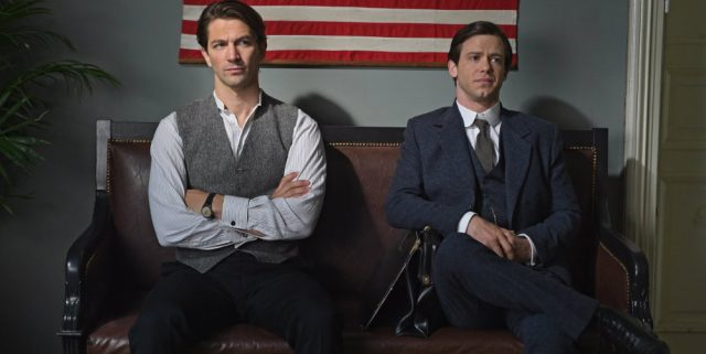 Michiel Huisman and Bug Hall in Harley and the Davidsons
