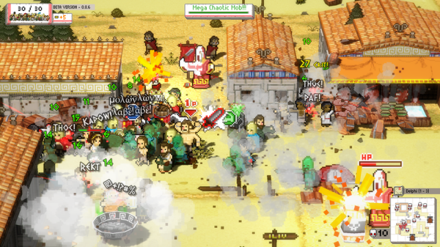Exclusive Interview: Coffee Powered Machine Talks Okhlos, A Rogue-lite Riot Simulator