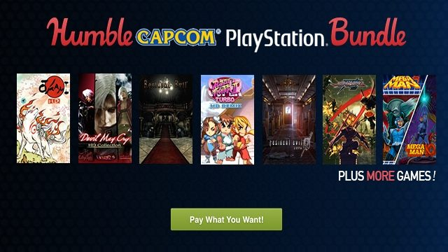 Bag Yourself A Bargain With The Humble Capcom PlayStation Bundle