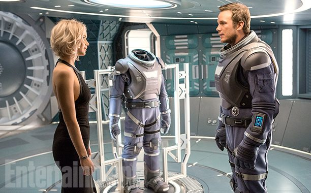 Chris Pratt And Jennifer Lawrence Are Interstellar Passengers In First Look At Morten Tyldum Sci-Fi