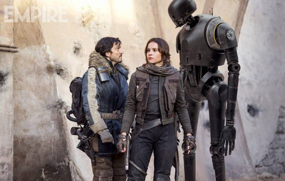 K-2SO And Jyn Erso Feature In New Look At Rogue One: A Star Wars Story