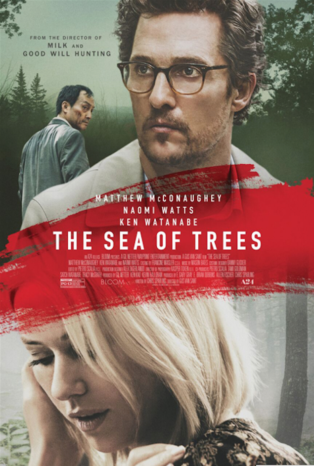 Gus Van Sant's The Sea Of Trees Debuts Heartbreaking US Trailer