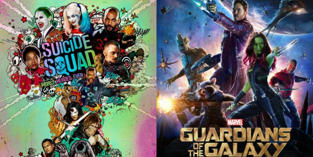Suicide Squad and Guardians of the Galaxy