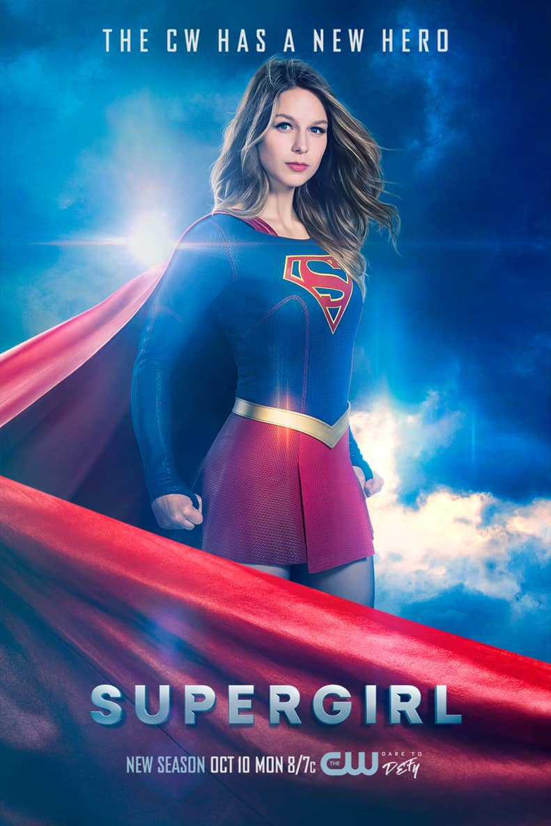 Supergirl Season 2 Poster Welcomes The Girl Of Steel To The CW