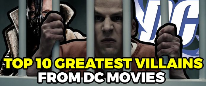 The 10 Greatest Villains From DC Movies
