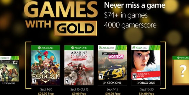 Xbox-Games-With-Gold-September