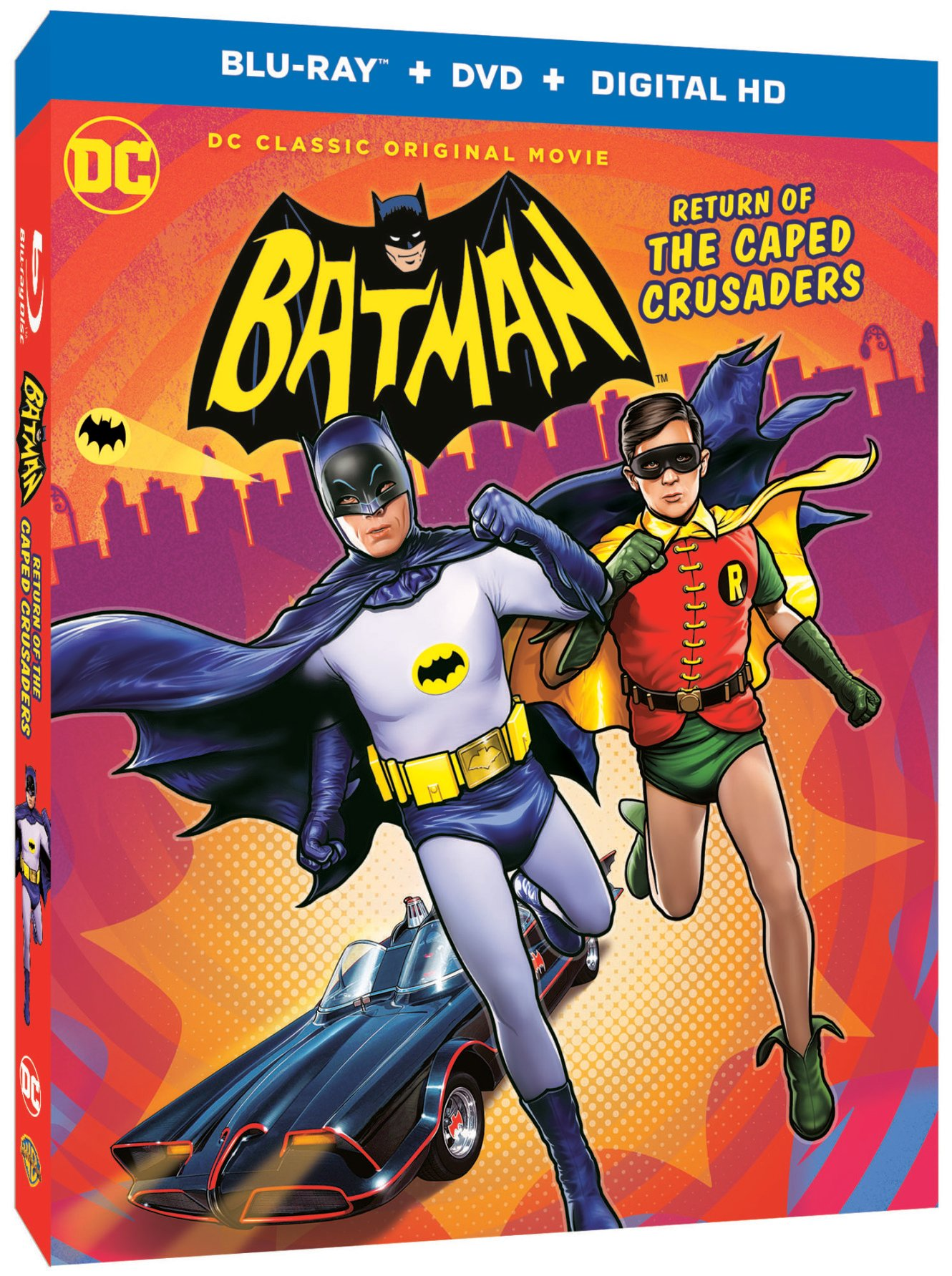 batman return of the caped crusaders box art