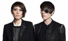 "Tegan And Sara Go Black And White In ""White Knuckles"" Video"