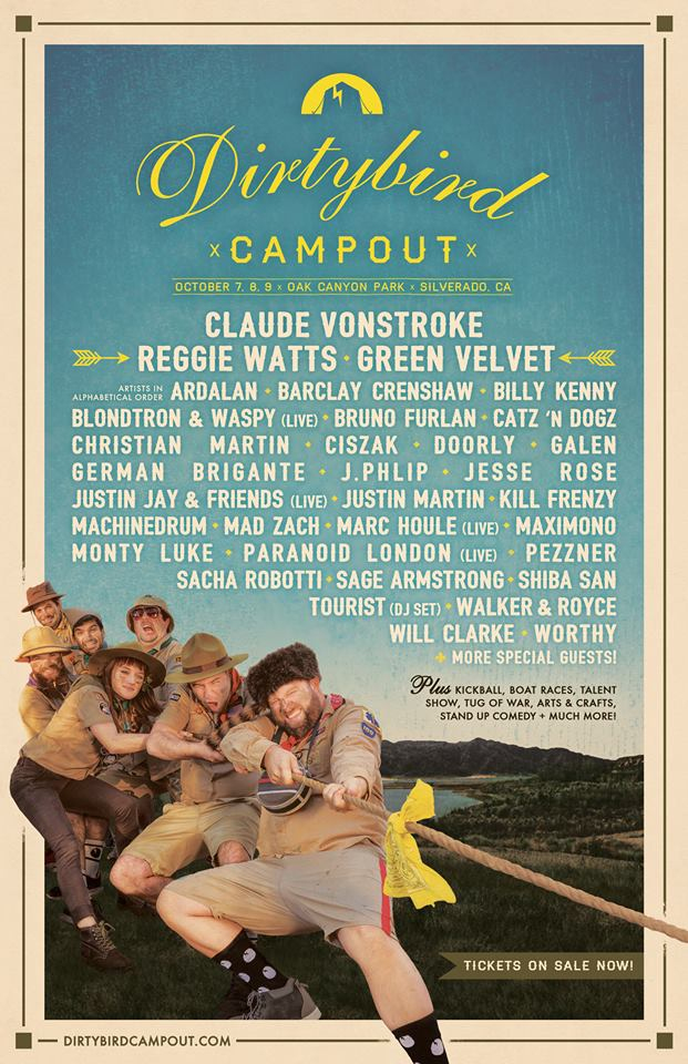 Check Out Phase Two Of The Dirtybird Campout Lineup