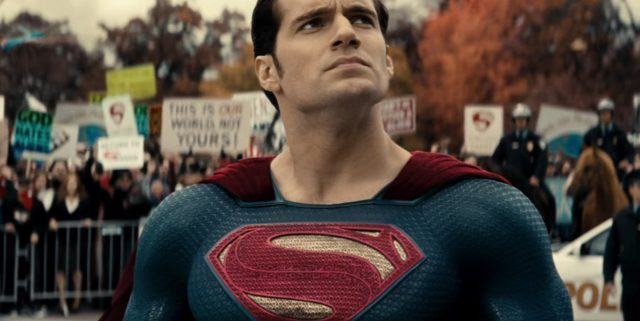 Superman Protested