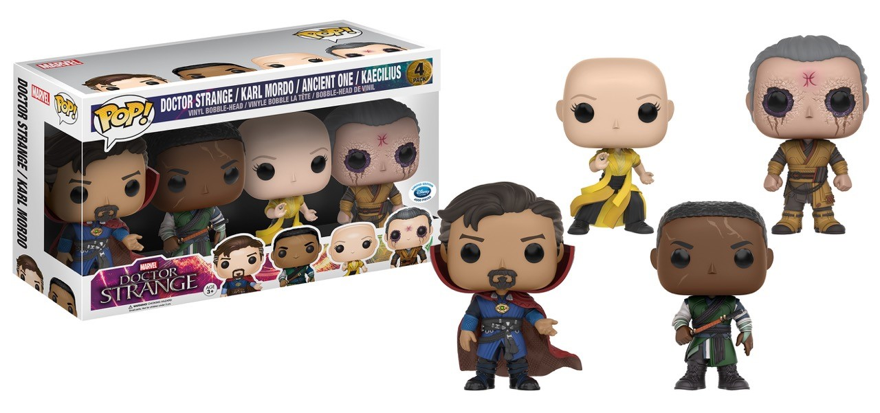 Doctor Strange Funko Pops Offer A New Look At The Sorcerer Supreme's Astral Form
