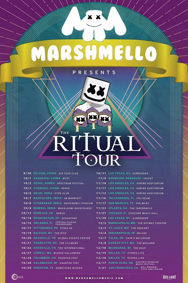 Marshmello Announces The Ritual Tour