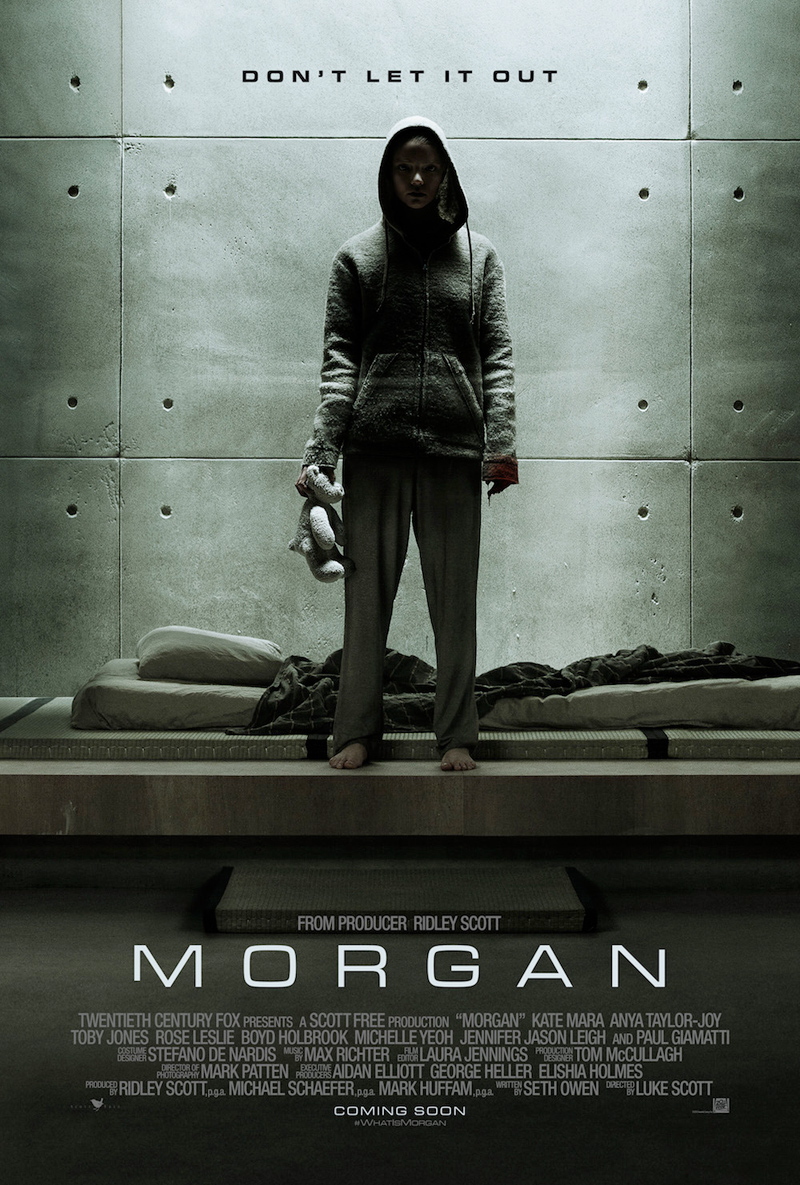 Kate Mara Is In Over Her Head In Latest Morgan Clip