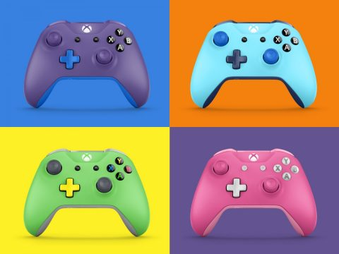 The First Batch Of Custom-Made Xbox One Design Lab Controllers Have Shipped