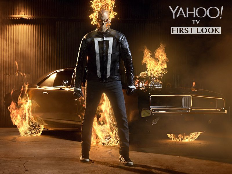Agents Of S.H.I.E.L.D. Promo Offers Up Best Look At Marvel's New Ghost Rider Yet