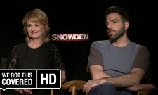 Exclusive Interviews: Zachary Quinto And Melissa Leo Talk Snowden
