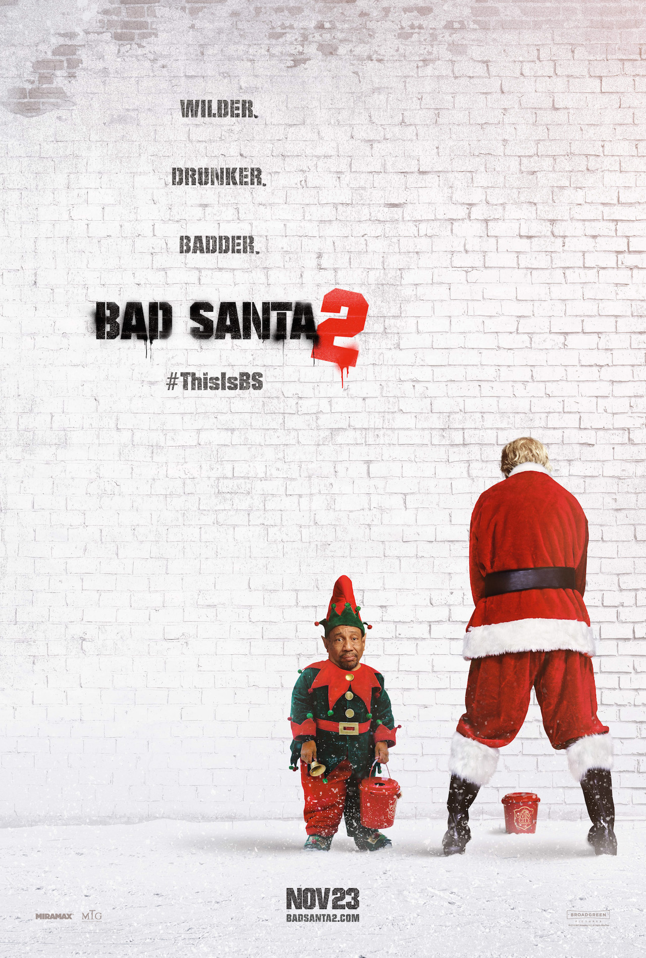 Billy Bob Thornton Saddles Up In Raunchy Red Band Trailer For Bad Santa 2