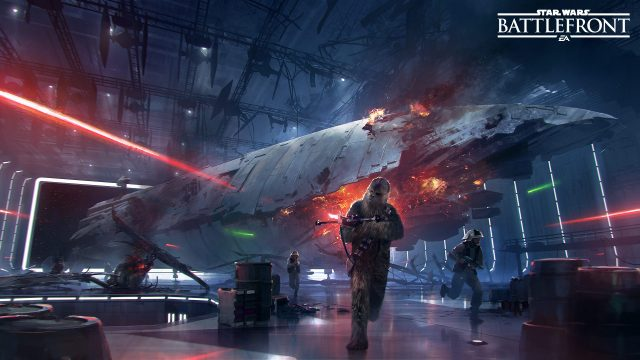 Prep For Tomorrow's Big Reveal With New Clip For Star Wars Battlefront's Death Star DLC