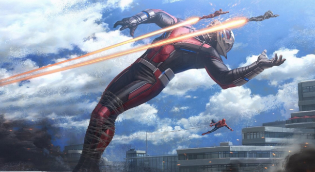 Yet Another Piece Of Captain America: Civil War Concept Art Is Empire Strikes Back Reincarnate