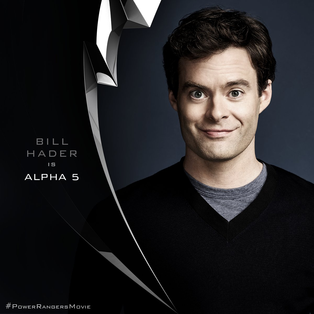 Trainwreck Star Bill Hader Will Voice Alpha 5 In Lionsgate's Power Rangers Reboot