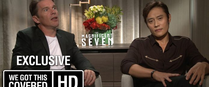 Exclusive Video Interview: Ethan Hawke And Byung-hun Lee Talk The Magnificent Seven