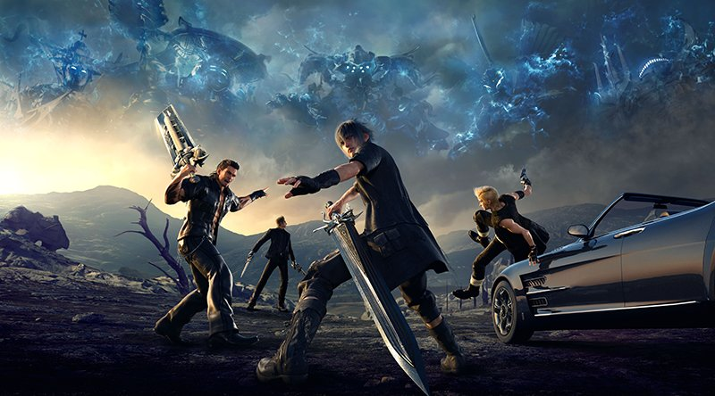 Here's Some New Footage While You Wait For Our Final Fantasy XV Review