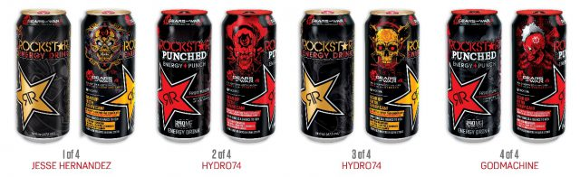 Rockstar Energy And Microsoft Team Up For Special Gears Of War 4 Promotion