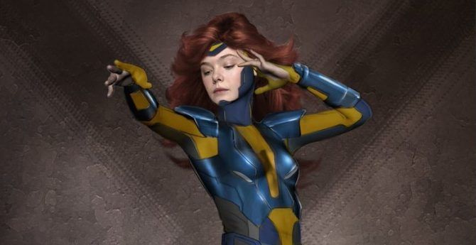 Early X-Men: Apocalypse Concept Art Features Elle Fanning Suited Up As Jean Grey