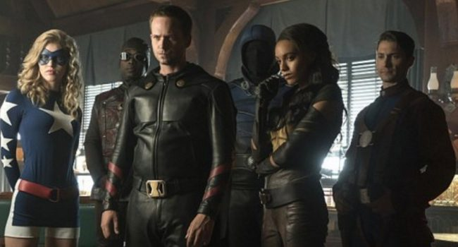 First Look At The Justice Society Of America In Legends Of Tomorrow Season 2